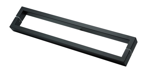 black 600mm front door pull handles