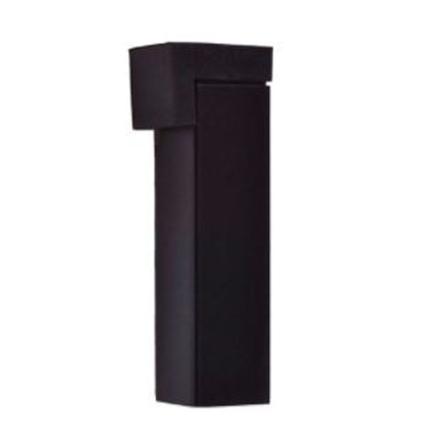 Nidus black door stop square