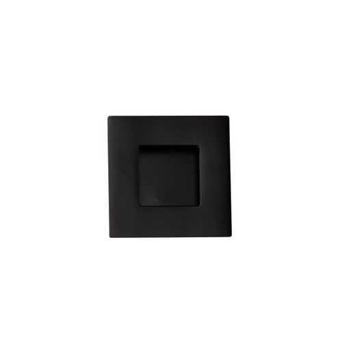 black flush handle 50mm square top
