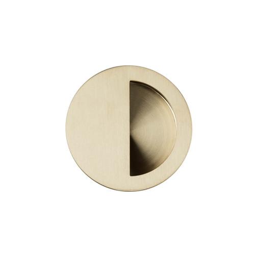 brass flush handle 70mm top