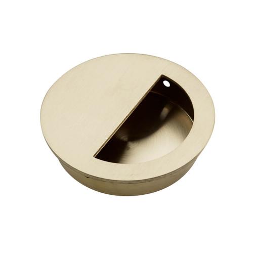 brass flush handle 70mm