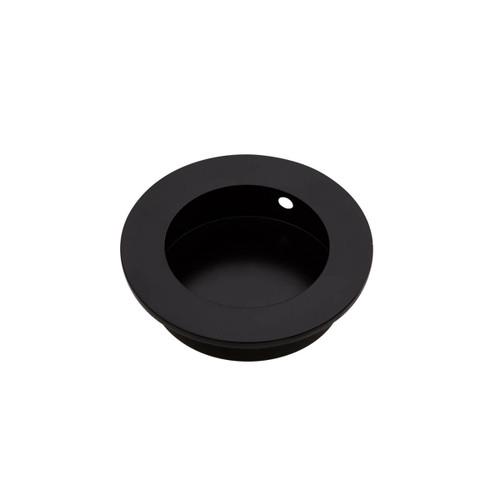 black flush handle 50mm side