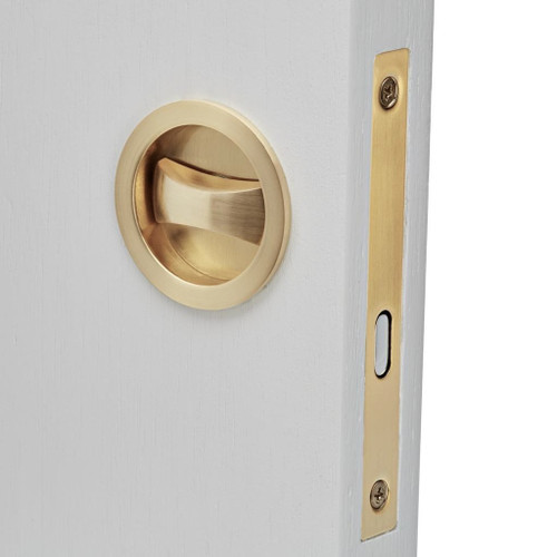 brass cavity sliding lock