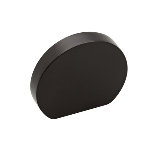 black  curve cupboard knob 35