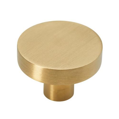 brass 35mm knob side