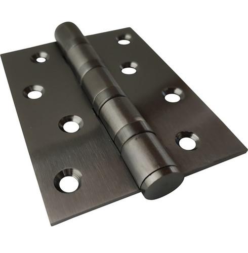 gun metal door hinge 75 x 100 loose pin