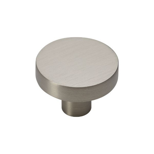 satin nickel 35mm knob
