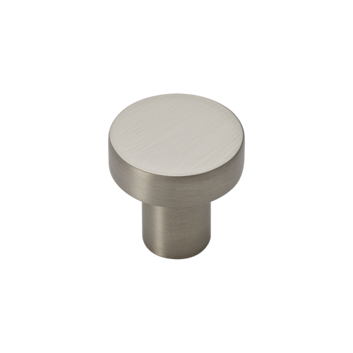 satin nickel 25mm pull knob