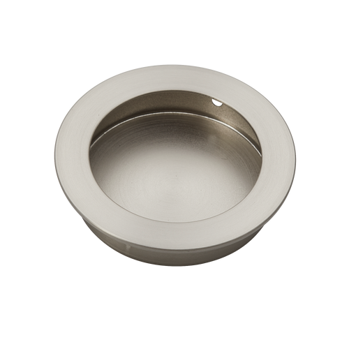 satin nickel flush handle 70mm side