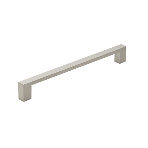192mm satin nickel cupboard pull handle