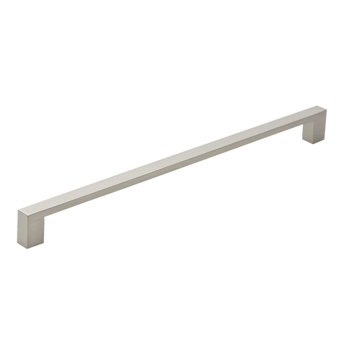 280mm satin nickel cupboard pull handle