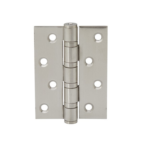 satin nickel fixed pin hinge