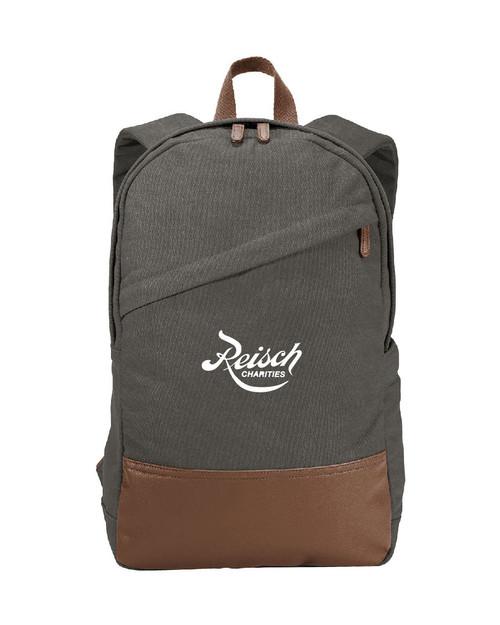 BG210 - Port Authority Cotton Canvas Backpack