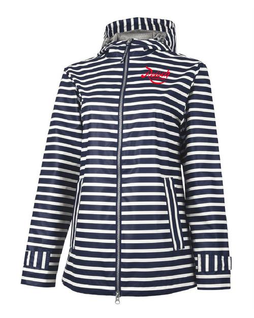 5990 - Women's New Englander Printed Rain Jacket