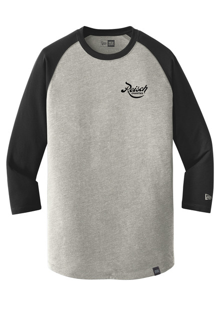 NEA104 - New Era Heritage Blend 3/4-Sleeve Baseball Raglan Tee