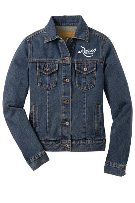 L7620 - Port Authority Ladies Denim Jacket
