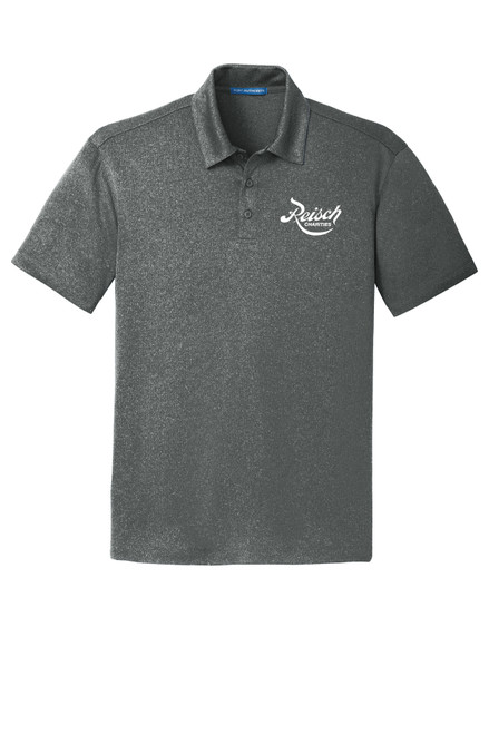 K576 - Port Authority Trace Heather Polo