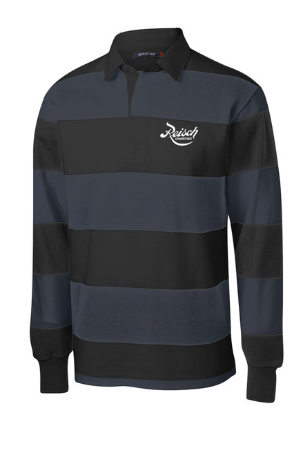 ST301 - Sport Tek Classic Long Sleeve Rugby Polo