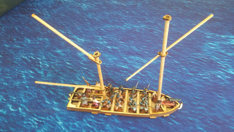28mm French Gunboat