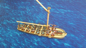 28mm Spanish Gunboat