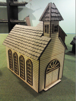 28mm Colonial Church