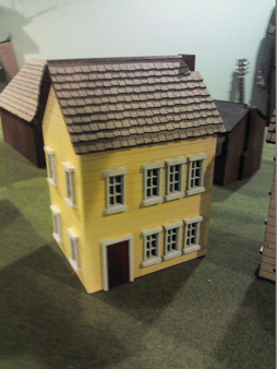28mm Colonial Townhouse 1