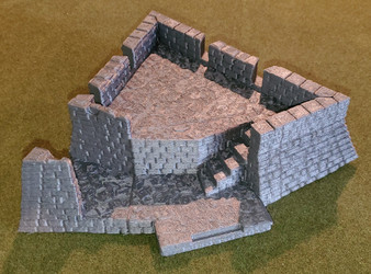 Drawbridge bastion - LARGE FORMAT upgrade
