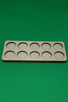 Movement Tray 20mm Round 10 model ranked
