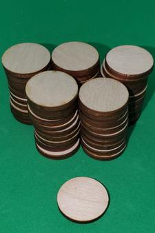 Base 25mm round (50 bases)
