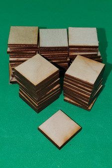 Base 25mm Square (50 bases)