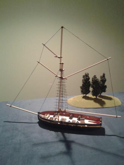 28mm Cutter - HMS LADY NELSON