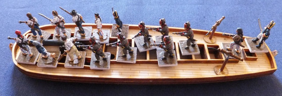 18mm Spanish Gunboat