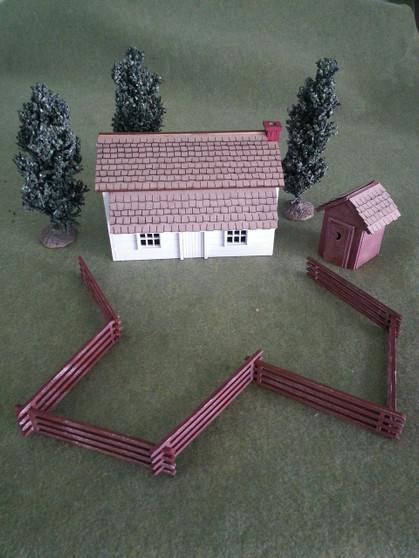 28mm Colonial Farmstead