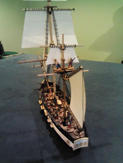 28mm 12-Gun Sloop HMS Speedwell