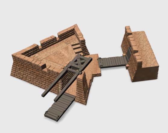 Drawbridge Gate Bastion Extension