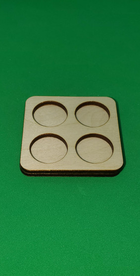 Movement Tray 20mm Round 4 model ranked