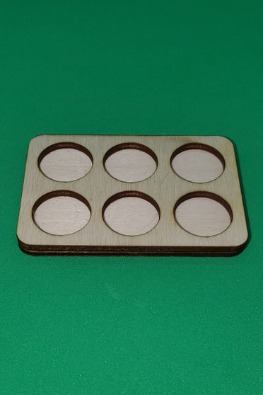 Movement Tray 20mm Round 6 model ranked