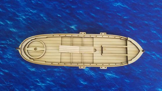 28mm British Gunboat