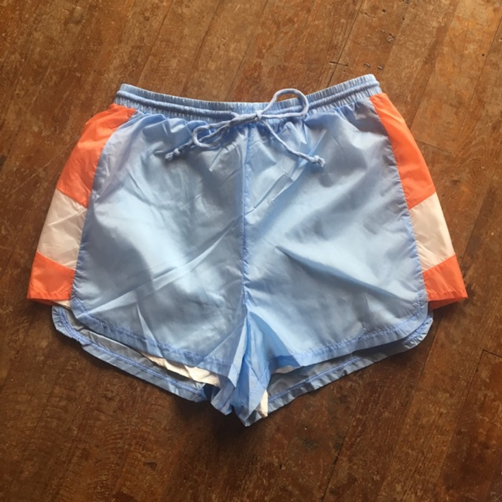 Light Blue Sporty Shorts
