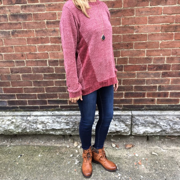 Soft Mauve Sweater