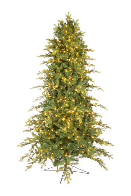 7.5' ForeverTree Deluxe Downswept Slim Douglas Fir Easy Lite with Remote