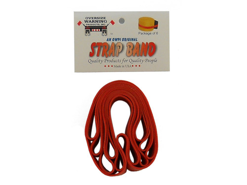 Oversize Warning Products Strap Bands