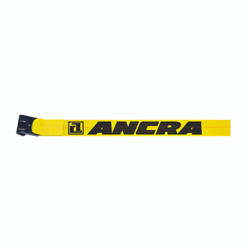 "Ancra 3"" x 30' Winch Strap with Flat Hook Anchor 41660-10-30"