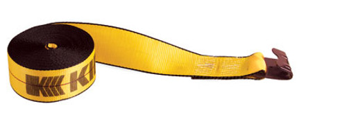 "4"" x 30' Kinedyne Winch Strap with Flat Hook 423021"