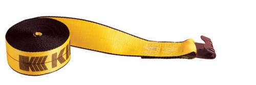 "4"" x 30' Kinedyne Winch Strap with Flat Hook 423021"