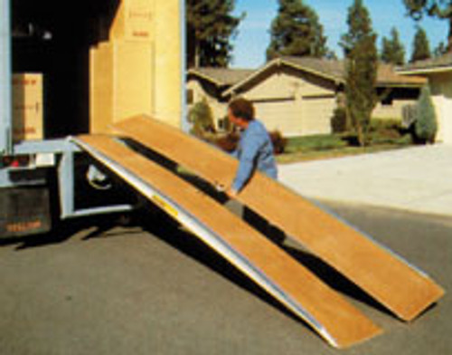 Heavy Duty Trailer Ramps 2 in 1 For Semi Van