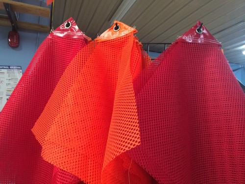 Standard Eyelet Flag Orange or Red