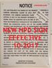 carbon monoxide detector notice-