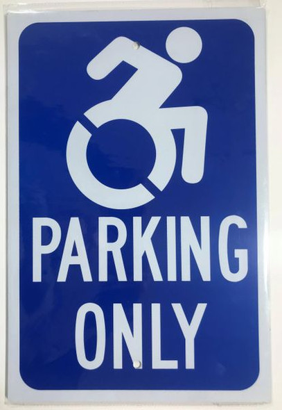 HANDICAP PARKING ONLY Signage