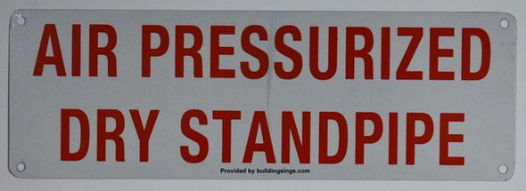 AIR PRESSURIZED DRY STANDPIPE White